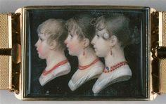 Portrait d'Aimée, Adèle, Elisa Artaud, par Charles Guillaume Alexandre Bourgeois (1759-1832)