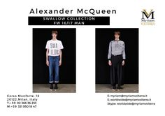 ALEXANDER MCQUEEN SWALLOW COLLECTION for MEN available for a pre order Myriam Volterra – The Italian Buying Office for Fashion & LuxuryContact us to know our latest and best discounts according to your specific requirements and quantities!