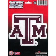Tag Express Texas A&M University Die-Cut Decal