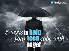 Anger is no stranger to the life of a teenager. While you can& wish it away, these five imperative steps will help you teach your young adult how to cope with his anger in healthy and loving ways.