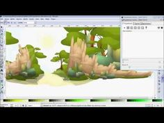 Vector Graphic- Making game background - YouTube