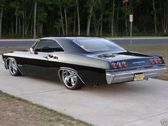 65 Impala SS love these cars u can go both ways with this one!!! Lowrider or hot rod!!