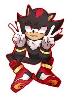 Cute ^^ but not so cute how Sonic. Shadow The Hedgehog, Maria The Hedgehog, Silver The Hedgehog, Sonic The Hedgehog, Shadow And Amy, Sonic And Shadow, Shadow Art, Sonic 3, Sonic Fan Art