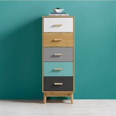 Buy Chest of drawers Aliona online ➤ mömax Attic Rooms, Komodo, Chest Of Drawers, Bunt, Filing Cabinet, Dresser, Storage, Stuff To Buy, Furniture