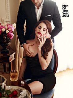 Lana Del Rey. GQ October 2012. Photograph by Mariano Vivanco.