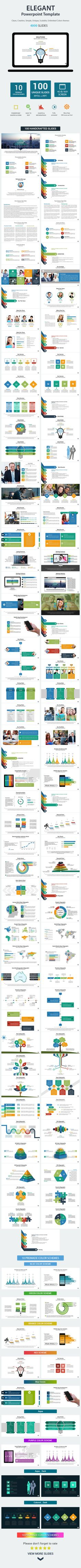 Elegant PowerPoint Presentation Template (PowerPoint Templates)