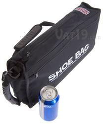 Covert Golf Bag Cooler. Fits discreetly into shoe compartment of your golf bag. Holds 9 cans of whatever plus insulated and waterproof for adding ice. I like this a lot!