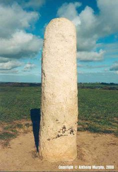 "Ireland's ancient coronation stone - the Lia Fail or ""Stone of Destiny"", which was brought here according to mythology by the godlike people, the Tuatha Dé Danann, as one of their sacred objects. It was said to roar when touched by the rightful king of Tara."