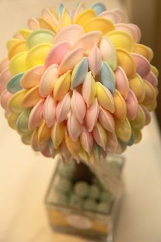 Flying Saucer sweet Tree Sweet Trees, Flying Saucer, Wedding Gallery, Handmade, Hand Made, Handarbeit