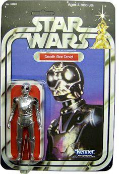 Kenner Star Wars Figure - Death Star Droid
