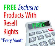 "FREE Exclusive INFO PRODUCTS (WITH RESELL RIGHTS)  Straight Into Your Mailbox Every Month!    Receive An Exclusive 5-in-1 Ebook Package on:    ""The Secrets to Unlimited Traffic Generation and How to Monetize Your Website!""    PLUS    A 10 Part Video Series On How to Build a Highly Targeted and Profitable List of Subscribers – COMPLETELY FREE!    http://onlinemarketing101.org/free-info-products/"