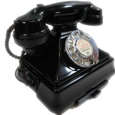 200 Series Antique Bakelite Telephone (1930s-1950s). The very first Bakelite Telephones issued in the UK and the one every vintage telephone collector wants.