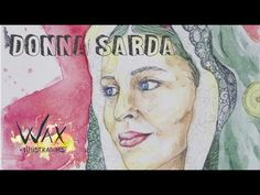 Donna Sarda - Watercolors Speed Drawing - YouTube