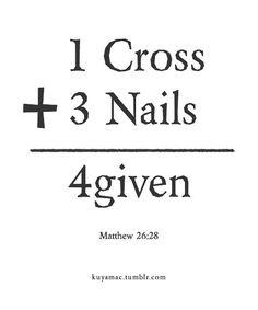 Forgiven ♥
