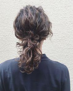 Medium Long Hair, Medium Hair Styles, Curly Hair Styles, Hair Inspo, Hair Inspiration, Wavy Hair Perm, Digital Perm, Waves Curls, Hair Arrange