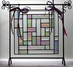 Sweet Dreams, Precious Baby Stained Glass Quilt Panel on Etsy, $149.95