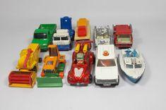 Matchbox - Corgi - X 10 - Die-Cast - Models - Cars - Trucks - Various Sizes Diecast, Corgi, Trucks, Toys, Model, Ebay, Activity Toys, Corgis