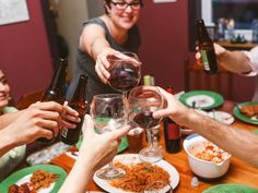 Friday Night Meatballs, a gathering that will leave you feeling full in more ways than one. | 5 Creative Things To Do With Your Grown-Up Friend Group