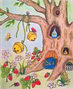 ....ve stromě  Colouring book: Čarovné lahodnosti / Magical Delights, Klara Markova