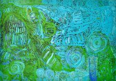 Sonia Kurarra, Martuwarra, 20!4, acrylic paint on canvas, 137.5 x 97.5 cm. Mangkaja Arts, Aboriginal and Pacific Arts, Sydney. Indigenous Australian Art, Arts Award, Aboriginal Art, Acrylic Painting Canvas, Sydney, Art Ideas, Survival, Paintings, Abstract