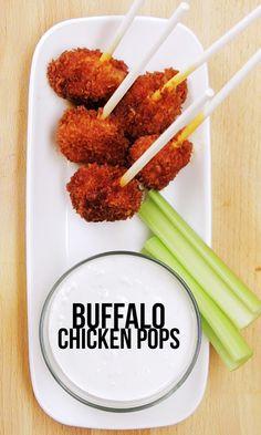 Buffalo Chicken Pops