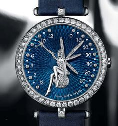 Van Cleef & Arpels The Poetry of Time - the brand is not renown in secondary markets, often seen as jewelry timepieces at reduced prices