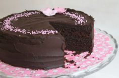 Tarun Taikakakut: Nigella's Devil's Food Cake Nigella, Devils Food, Tart, Cake Recipes, Deserts, Food And Drink, Yummy Food, Sweets, Baking