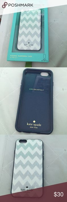 Brand new kate spade IPhone 6 case Super stylish iPhone 6 case brand new still in box!  kate spade Accessories Phone Cases