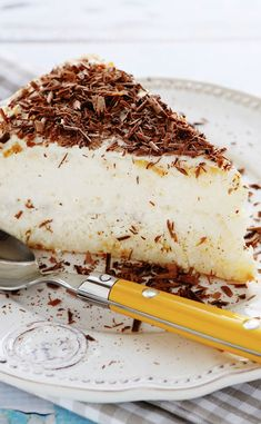 Cheesecake noix de coco et chocolat Sweet Recipes, Cake Recipes, Banana Cream, Cream Pie, Sweet Cakes, Let Them Eat Cake, Cheesecakes, Gluten Free Recipes, Food And Drink