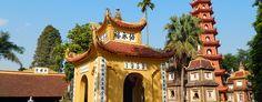 Pagoda Trấn Quốc -Hanoj. #hanoj #cestovani #pagoda #travel #vietnam