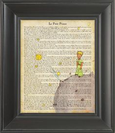 The Little Prince   Printed on The Little Prince  page   by Nacnic, $7.00