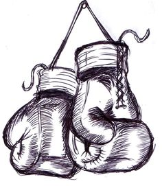 boxing glove drawing - Google Search