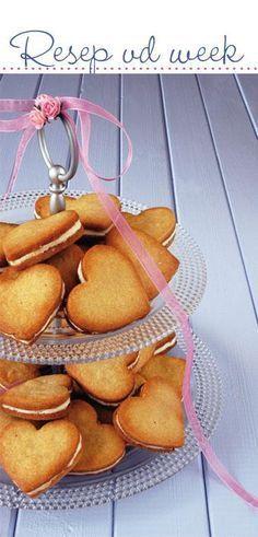 GEMMER-EN-KANEEL-KOEKIES   KOEKIES  250 g (½ blok) sagte botter  375 ml (1½ k) strooisuiker  1 eier  5 ml (1 t) vanielje  3 k koekmeel ... Biscuit Cookies, Biscuit Recipe, Yummy Cookies, Cupcake Cookies, Cupcakes, Coffee Cookies, Spritz Cookies, Baking Recipes, Cookie Recipes