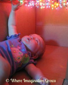 Star Box Sensory Play for Infants - Where Imagination Grows