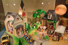 Playmobile - we had a pretty awesome set up like this at home