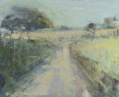 Hannah Woodman, 'Summer Walk, near Mawnan' 2014. Oil on board. 70 x 85cm