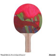 Visual Arts Ping Pong Paddle