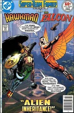 #dc #dccomics #marvel #marvelcomics #superteamfamily  #comicbooks #covers #superheroes #comicwhisperer #comiccovers #hawkman #falcon