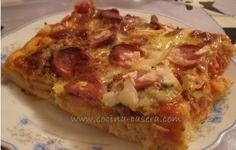 Pizza de Jamón York y Champiñón. Receta paso a paso | Recetas de Cocina Casera | Recetas fáciles y sencillas