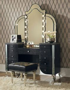 Make up vanity table. Perfect!!