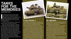 Comparing tank options ((spoiler alert) before we bought Abrams). From CONTACT issue 1, March 2004