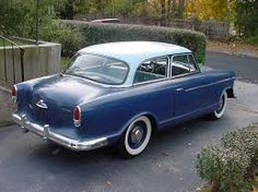 My moms first car...Rambler.. Memories