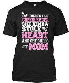 Are You A Proud Cheer Mom?   Teespring