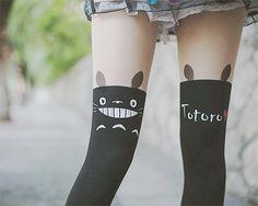 omg totoro tights !!!! <3