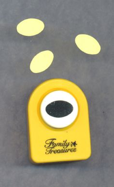 PAPER Punch OVAL or Egg Shape Scrapbooking Half by TheMaineCoonCat, $2.95