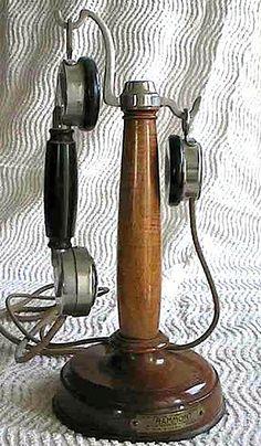 Téléphone bougie Grammont de 1920