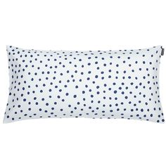 Utö cushion cover, off white-blue, by Marimekko.