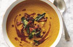 Het ultieme pompoensoep-recept van Masterchef's Matt Preston. I Love Food, Good Food, Yummy Food, Curry Pasta, Masterchef Recipes, Soup Recipes, Healthy Recipes, Pumpkin Soup, Food For Thought
