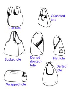 The most detailed tutorials on how to make any kind of bag.