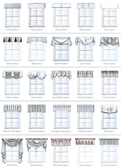 1000 images about pillow and drapery styles on pinterest for Hotel design valence